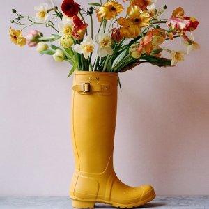 额外8折 小粉靴$45.6Hunter 折扣区雨靴、服饰限时促销