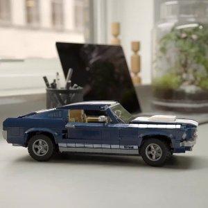 $149.99+双倍积分变相9折LEGO官网 福特 Mustang 元祖版野马10265