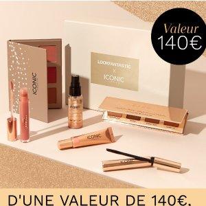变相2.8折 仅需€40LF x ICONIC联名 夏日光泽6件彩妆礼盒 总价值€140