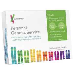 $9.99(原价$29.99)23andMe 个人祖源、DNA分析检测包