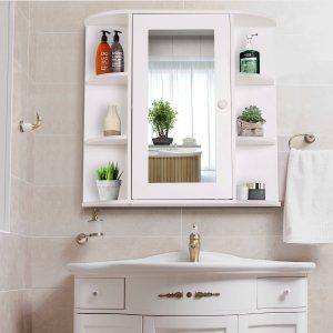 HOMCOM壁挂浴室储物柜