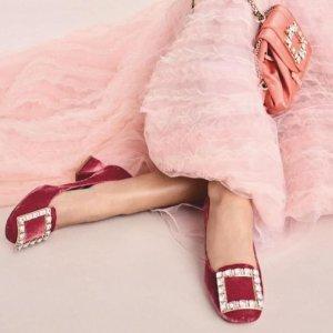 低至5折 $437起上新:RV 经典方扣芭蕾鞋