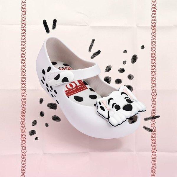 迪士尼斑点狗图案 婴儿、小童鞋,多色选