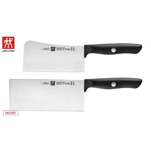 真正德国制造,一套搞定厨房所需补货:68折+折上9折 双立人Life中式刀+砍骨刀€54.95欧+折上9折