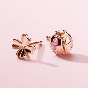 Save $25 on Every $100Ending Soon: PANDORA Jewelry Earrings Sale