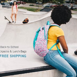 Up to 60% OffAll Back-to-School Backpacks + Lunch Bags @ High Sierra