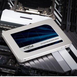 限时秒杀价¥1430Crucial MX500 固态硬盘 2TB 3D NAND SATA2.5