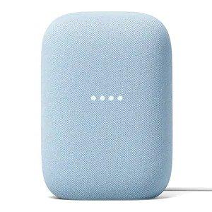 $99.99(原价$129.99)Google Nest Audio 清新蓝 智能音箱