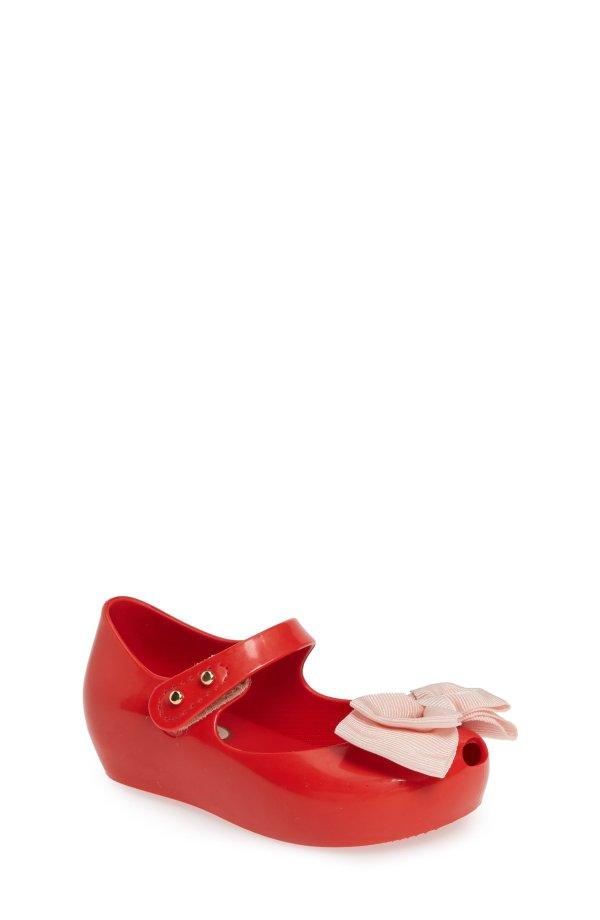 女童果冻鞋