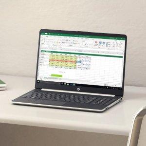 $399 (原价$599)HP 15吋触屏笔记本 (Ryzen 7 3700U, 12GB, 256GB SSD)