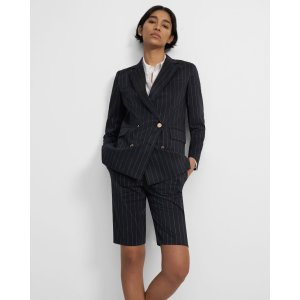 TheoryPiazza Jacket in Pinstripe Linen
