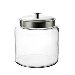 Anchor Hocking 玻璃密封罐 1.5加仑超大容量 腌泡菜利器