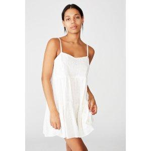 Cotton OnWoven Betty Tiered Mini Dress