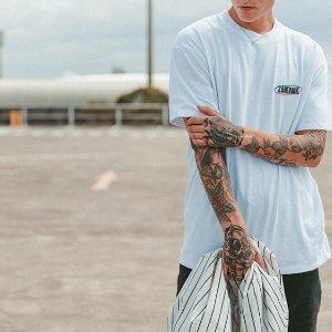 $19起 澳洲设计师品牌ZANEROBE 时尚街头T桖、汗衫、马球衫等男装