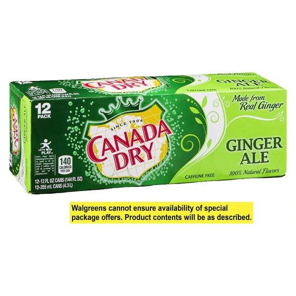 Canada Dry 12oz 12罐