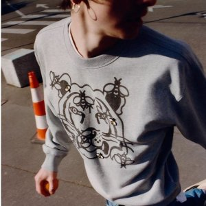 低至5折+额外9折!€42收虎头卡包限今天:KENZO 潮男潮女服饰专场 经典虎头、Logo款都在线