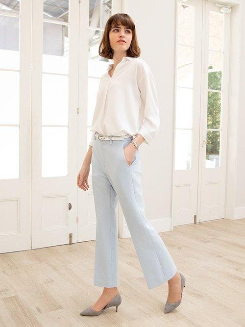 女士超显瘦西装裤