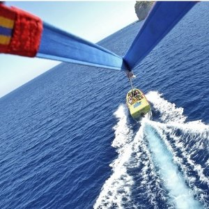 As Low as $135Parasail Flight with Deluxe Photo Package for Two