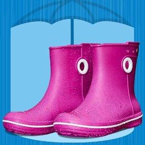 Crocs同款藏青色!7折,码全雨鞋