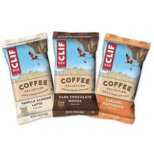 $12.94 每包$0.86Clif Bars 什锦咖啡能量棒 2.4oz 15包