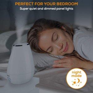 $59.99(原价$79.99)Beurer 超声波冷雾加湿器、精油香薰扩散器 香薰疗法安享舒适