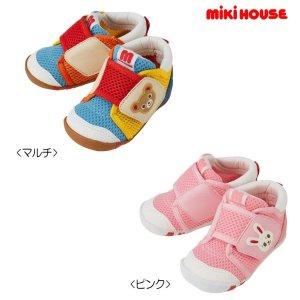 mikihouse儿童学步鞋