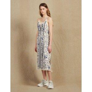 SandroSlip-Style Dress With Narrow Straps