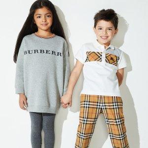 包邮+ 北面鹅绒外套$70 (原$180)折扣升级:儿童Burberry等品牌服饰低至2折+额外6.5-7.5折热卖