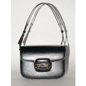 Gucci1955 HORSEBIT LEATHER SHOULDER BAG