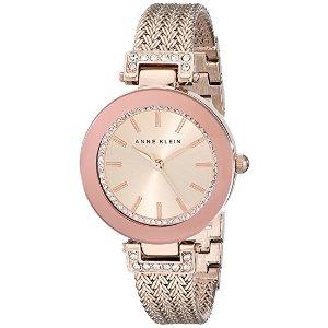 Anne KleinGoldtone Crystal Watch