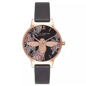 皇家婚礼独家85折Olivia Burton 小蜜蜂系列手表