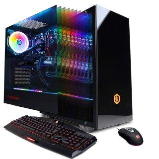 $1689.99 包邮CyberPowerPC 水冷游戏台式机 (i9-9900K, 16GB, 2070, 1TB SSD)
