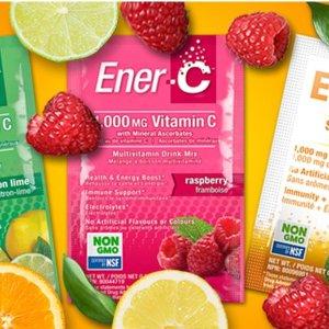 低至8折 $7.99起运动能力冲剂Ener-C 增强免疫力 维生素C冲剂 多水果味 提升元气No.1