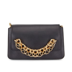 Chloe Drew Bijou Leather Clutch Bag