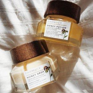 断货王蜂蜜面膜仅¥217折扣升级:北美Sephora榜首品牌,Farmacy 护肤7折热卖