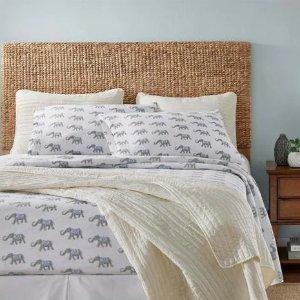 低至6折 $16.7收封面床单套装