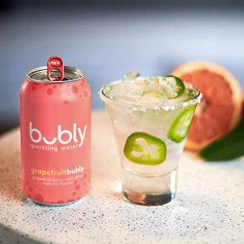 $5.16 + Free ShippingBubly Sparkling Water, Mango, 12 fl Oz. Cans (18 Pack)