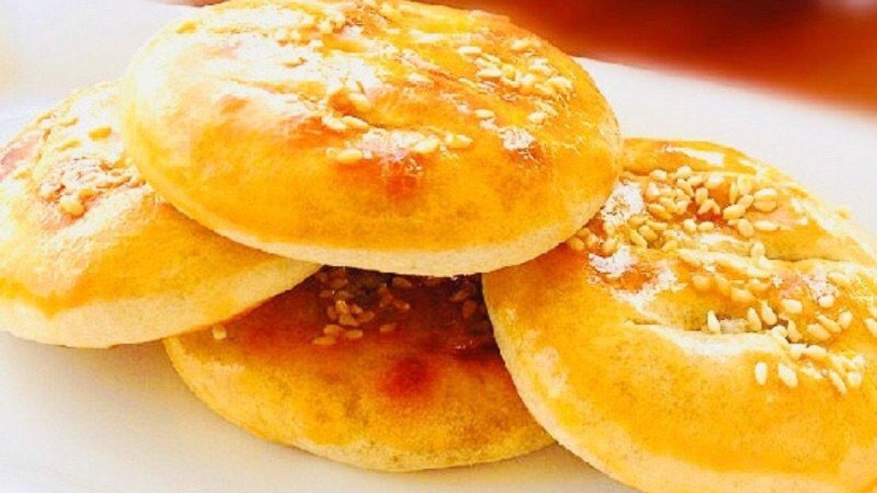 香酥老婆饼,大包酥做法DIY