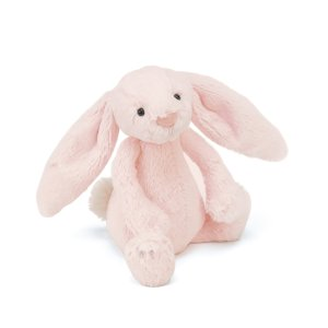 Jellycat满£50享8.5折码:SURPRISE粉兔