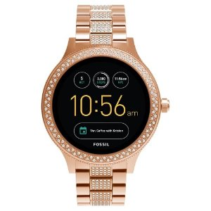 452fe292fac Fossil Gen 3 Smartwatch - Venture 42mm Rose Gold-Tone with Glitz