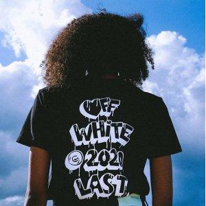低至4折+额外8.5折+部分减$120Farfetch 男女潮牌T恤专场,off-white、BBR、Ami全都有
