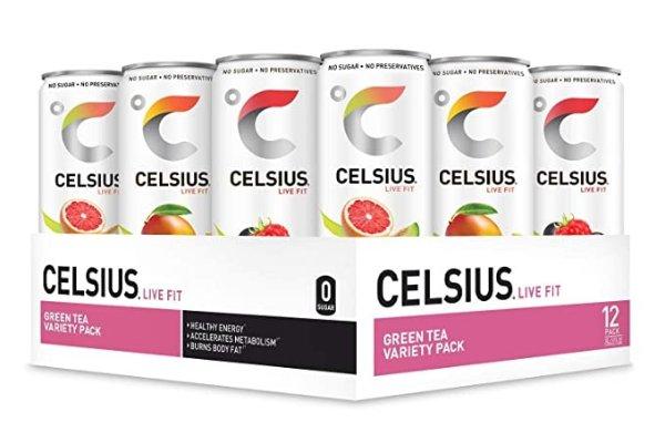 无糖功能性气泡水 桃子口味 12罐装