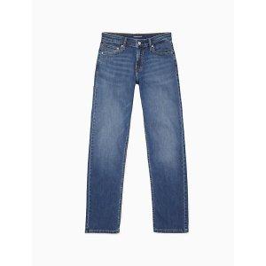 Calvin Kleinstraight leg mid rise hamptons blue jeans