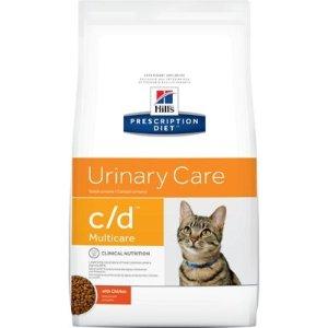 Hill's Prescription Diet泌尿护理鸡肉味猫粮 17.6lb