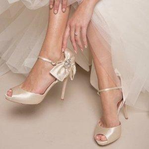 低至4折+免邮Badgley Mischka 精选美鞋热卖 收大牌平价替代款婚鞋