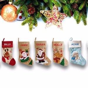 低至$12 定制你的专属圣诞袜Groupon 精美圣诞袜团购 多款可选