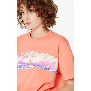 Kenzo浪花T恤