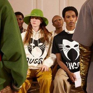Gucci猫头T恤