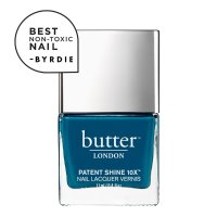 Butter London Chat Up Patent Shine 10X Nail Lacquer——湖蓝色