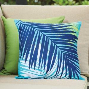 棕榈叶抱枕